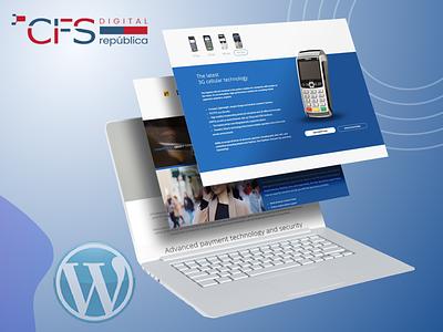 CFS Digital design uiux branding illustration graphic design custom design website design ui ux ui