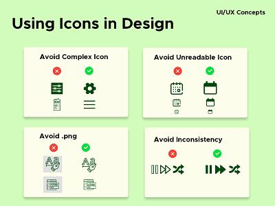 UI/UX Concepts design illustration colors consistancy png webdesign size icon ui uiux