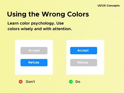 UI/UX Concept colors uiux branding graphic design custom design design ux ui ux ui