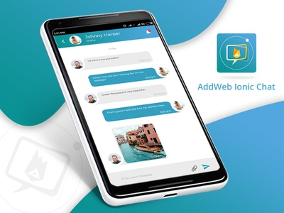 AddWeb Chat- One To One Messaging App