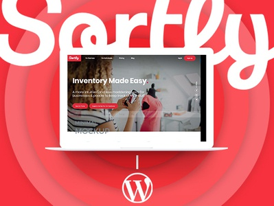 WordPress - Inventory Management Website