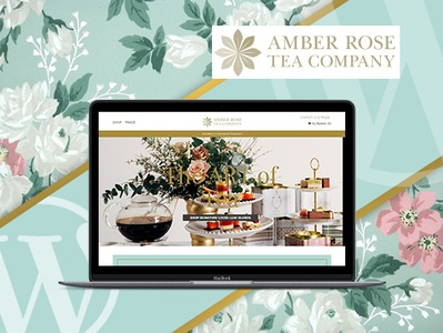 Amber Rose Tea Company Website