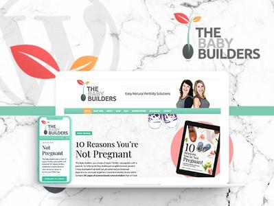 The Baby Builders: WordPress Website