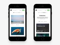 Unsplash App Concept