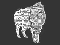 SXSW Buffalo Lounge VIP shirt