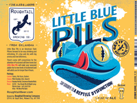 Roughtail Little Blue Pils Label