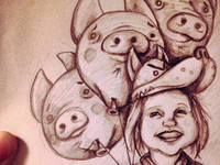 Romi and the Three Little Pigs