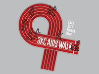 Aids Walk Ribbon