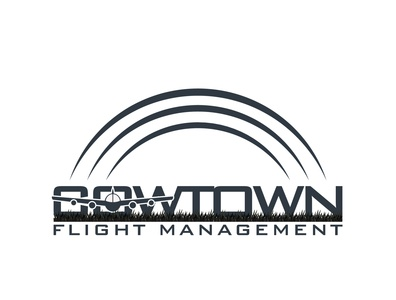 Flight Management Logo template company logotype corporate technology element graphic concept modern sign design icon brand logo identity symbol vector management business flight