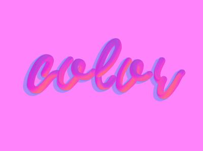 Color vector logo photoshop typography