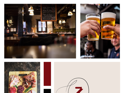 "Restaurant ""O 3 Trincas"" - Logo design restaurant branding restaurant logo minimal logo illustration design branding"