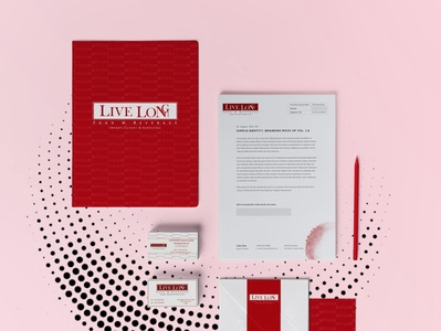 Live Long : Import, Export & supplying marketing startup branding startup logo stationery logo branding design
