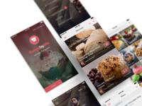 UI Design for BakedbyMe