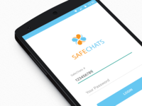 Safe Chat UI Design Material