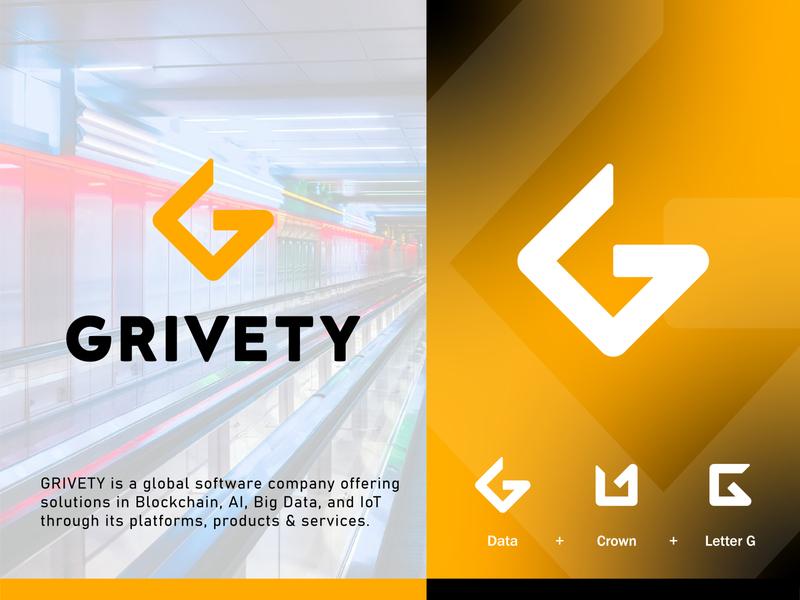 Grivety, logo design dailylogochallenge typography font design vector illustration gridlogo grid logodesignchallenge icon branding vector graphicdesign logodesigner logodesign logo design logos logo