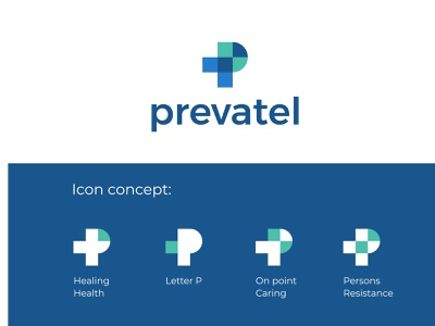 Prevatel, logo design illustrator graphicdesign vector brandidentity branding brand icon logodesigner logodesign minimal minimalist hospital pharmacy creative design logos logo