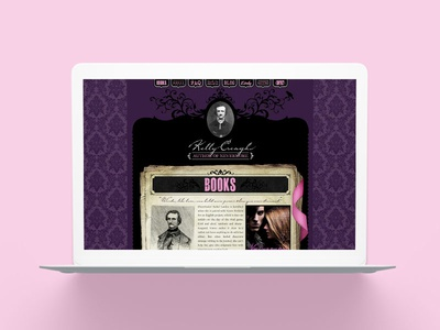 Kelly Creagh Young Adult Author Website Design