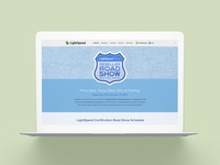 Lightspeed Reseller Road Show Website