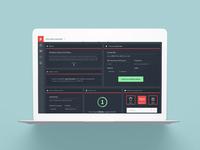 MyLightspeed Product Dashboard Website Design