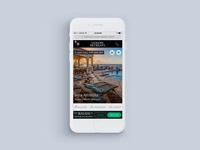 Luxury Retreats Mobile Product Detail Page