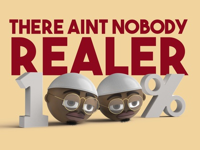 There Aint Nobody Realer 3d animation animation music video music solidworks figure character 3d render keyshot character design 3d rendering 3d art