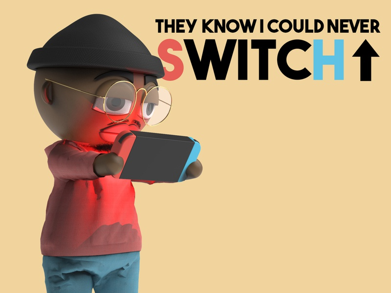 Switch Up animation 3d animation solidworks music video music figure character 3d render keyshot character design 3d rendering 3d art