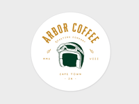 Arbor Coffee Co. Boxcar Series Coaster