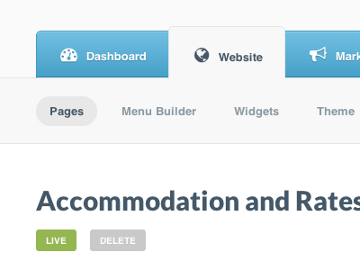 Accommodation rates