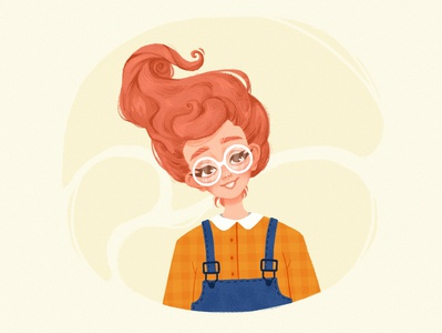 Draw this in your style child illustration childrens illustration character design dtiys drawthisinyourstyle drawing girl cute illustration portrait