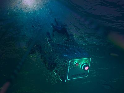 Brasil 2047 - Part VII cinematic water underwater keyframe 3d blender blender3d digital design animation illustration