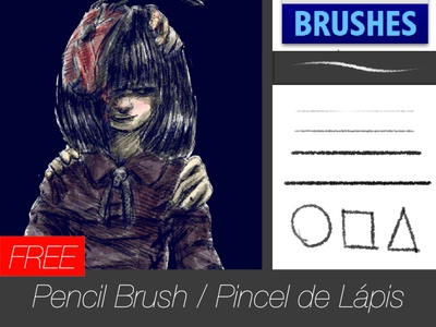 Free brush - Pencil Brush freebrush free freebie brushes brush animated draw animation digital art drawing illustration