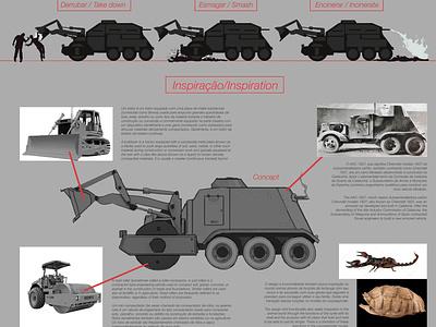 Corpsegrinder - Vehicle Concept vehicle concept concept car vehicle graphics vehicle design vehicle