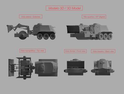 Corpsegrinder - Vehicle Concept car vehicle concept concept vehicle vehicle design