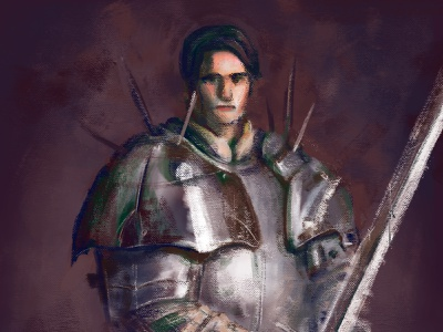 Robert the Courteous sketch painting paint art digital drawing illustration