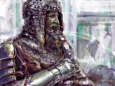Portrait Study painting art digital drawing illustration