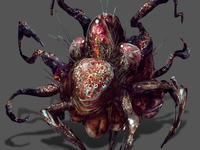 Abyssal Creature concept concept art concept painting art digital drawing illustration
