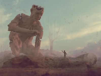 Oblivion blender 3d art digital drawing illustration