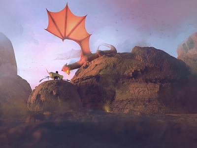 Showdown 3d animation blender 3d art animation digital drawing illustration