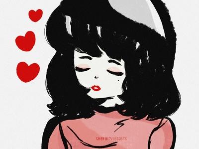 Snow White dailyart heart graphicdesign snowwhite girl artwork illustration design art
