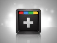 Google+ Fluid app icon