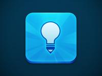 Lightbulb Pencil app icon