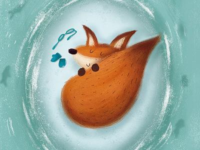 """Edicións Xerais, """"O raposo aviador que voa sen motor"""" childrens illustration illustration"""