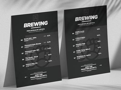 Tarantula Hill Brewing Co. product photoshop minimal logo lettering adobe illustrator illustration flat concept design label design packaging business branding identity branding label art