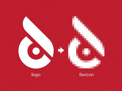 Night Owl Logo & Favicon podcasting red logo favicon owl night