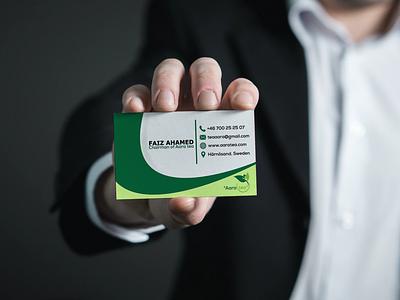 Tea company Business Card Design