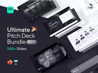 Updated: Ultimate Pitch Deck Bundle bundle ppt template slideshare slides slideshow pitch deck design keynote powerpoint ppt presentation pitch deck template pitch deck