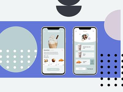 Coffee App mobile app ordering coffee app coffee design concept figma app design case study
