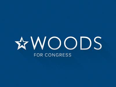 James Woods for Congress spectrumexperience woods jameswoods brand logo