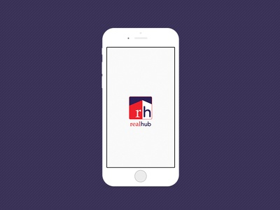 App Design - Realhub - Startup Screen
