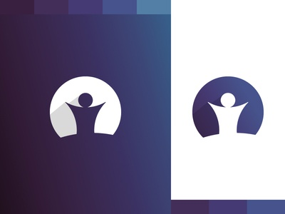 Humanist Experience - Logo and Color Palette